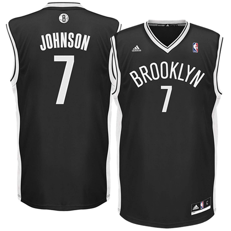 10c76b833 Get Quotations · Outerstuff Joe Johnson Brooklyn Nets Black Road Replica  Youth Jersey