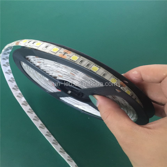 CE ROHS Wholesale Cheap Price 14.4W SMD 5050 double PCB waterproof RGB led strip light