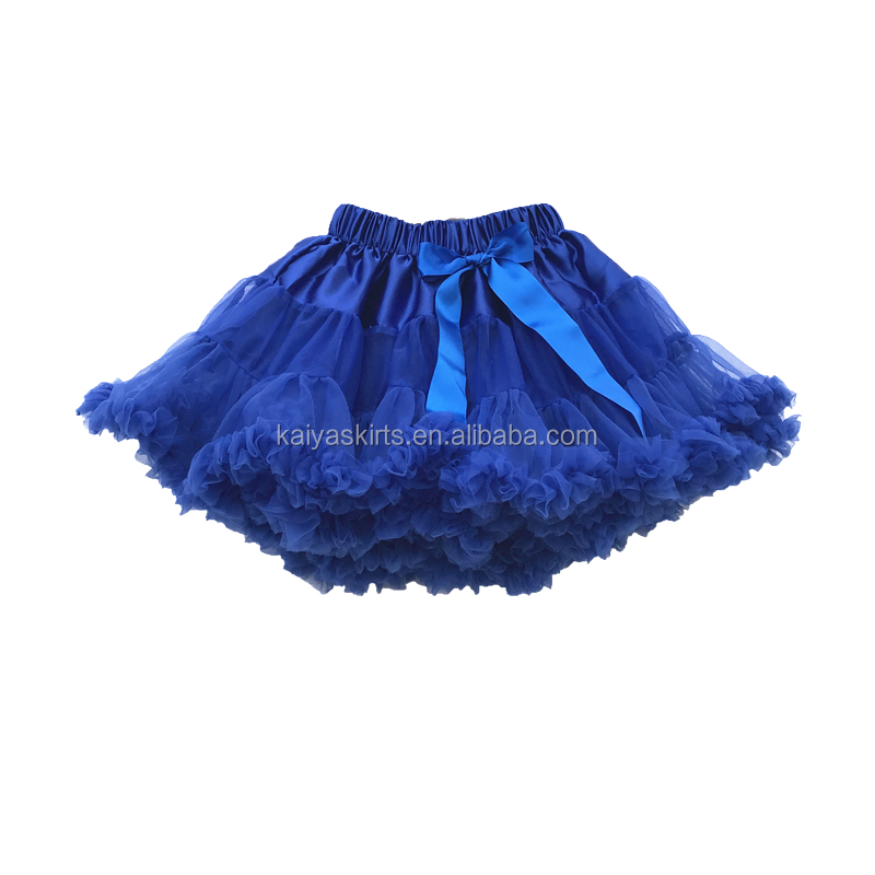 Back to School Children Chiffon Pettiskirt Girl Baby Mini Tutu Skirt