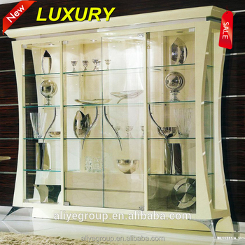 Bl11311a New Clic Living Room Showcase Design Wine Gl Display Cabinet
