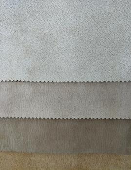 Polyester Fabric Weft Suede Upholstery