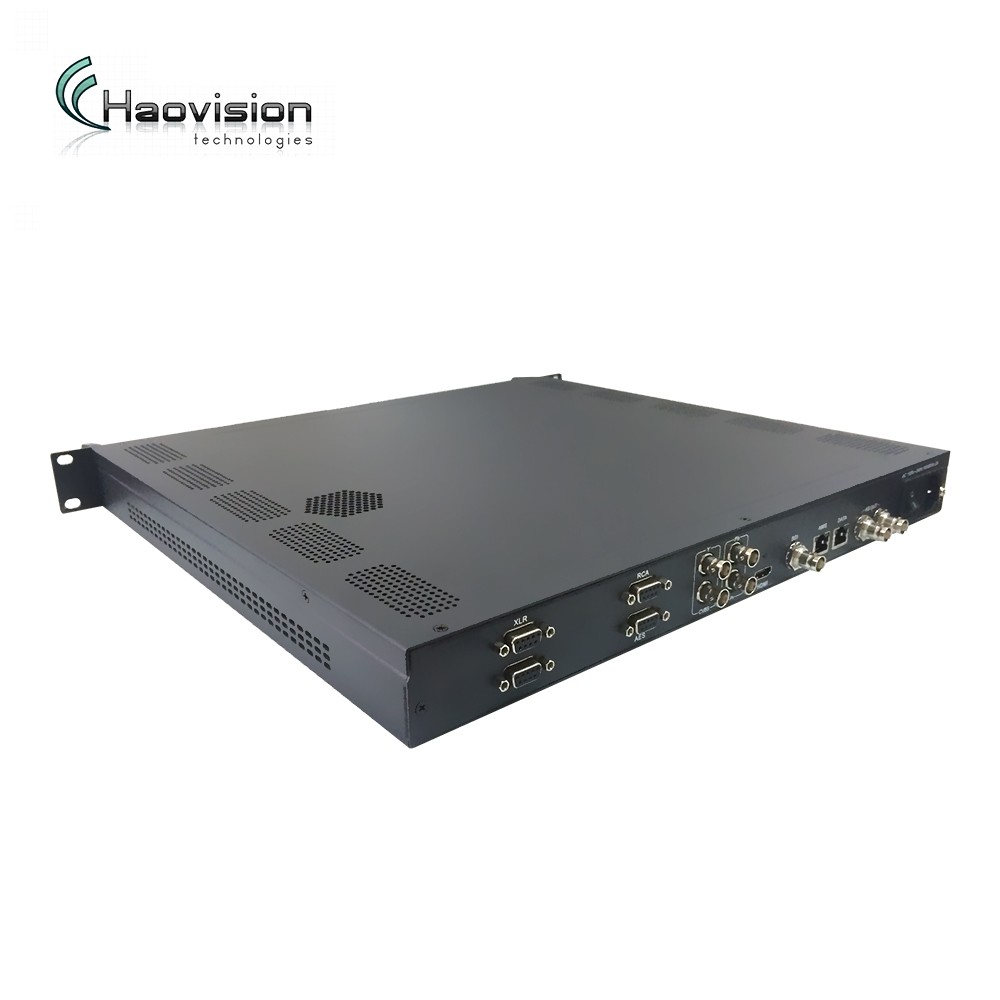 Professionale 4:2:2/4:2:0 HD MI/SDI/AV Video per IP mpeg2 mpeg4 HD Encoder IPTV IP ASI