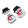 Factory price Christmas Snowman New Design Custom Usb Flash Drive/ Disk/ Memory Stick Usb 2.0 available 1GB 2GB 4GB 8GB 16GB