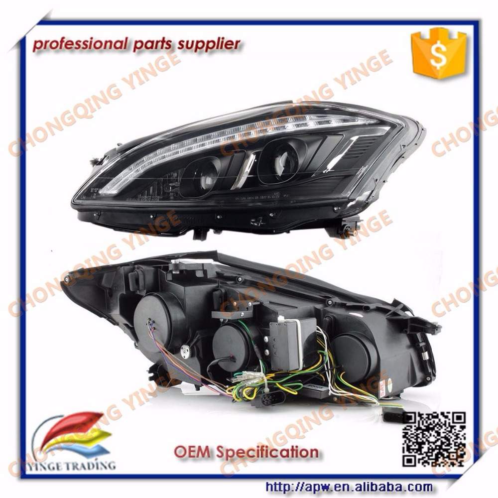S-class W221 S350 S500 S600 LED HeadLight 2006-2013 for NON AFS Car