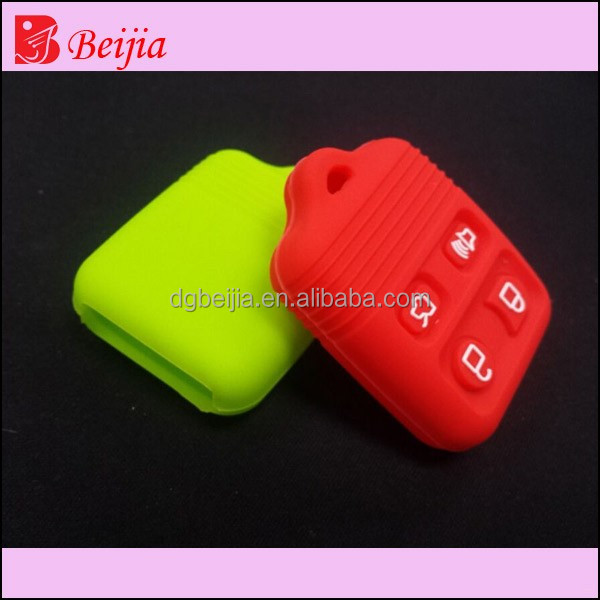 Best quality silicone car key case, rubber silicone car key cover, car plastic silicone key covers car key case