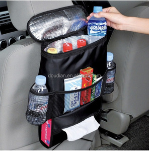 Sturdy and Flexible tool bag storage boxes cooler back seat tray car trunk organizer