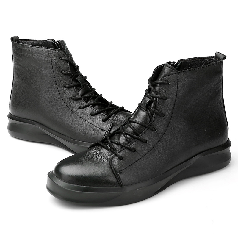 Well Leather Top Leather Shoes Mens Casual Genuine Best 6qTdWcq