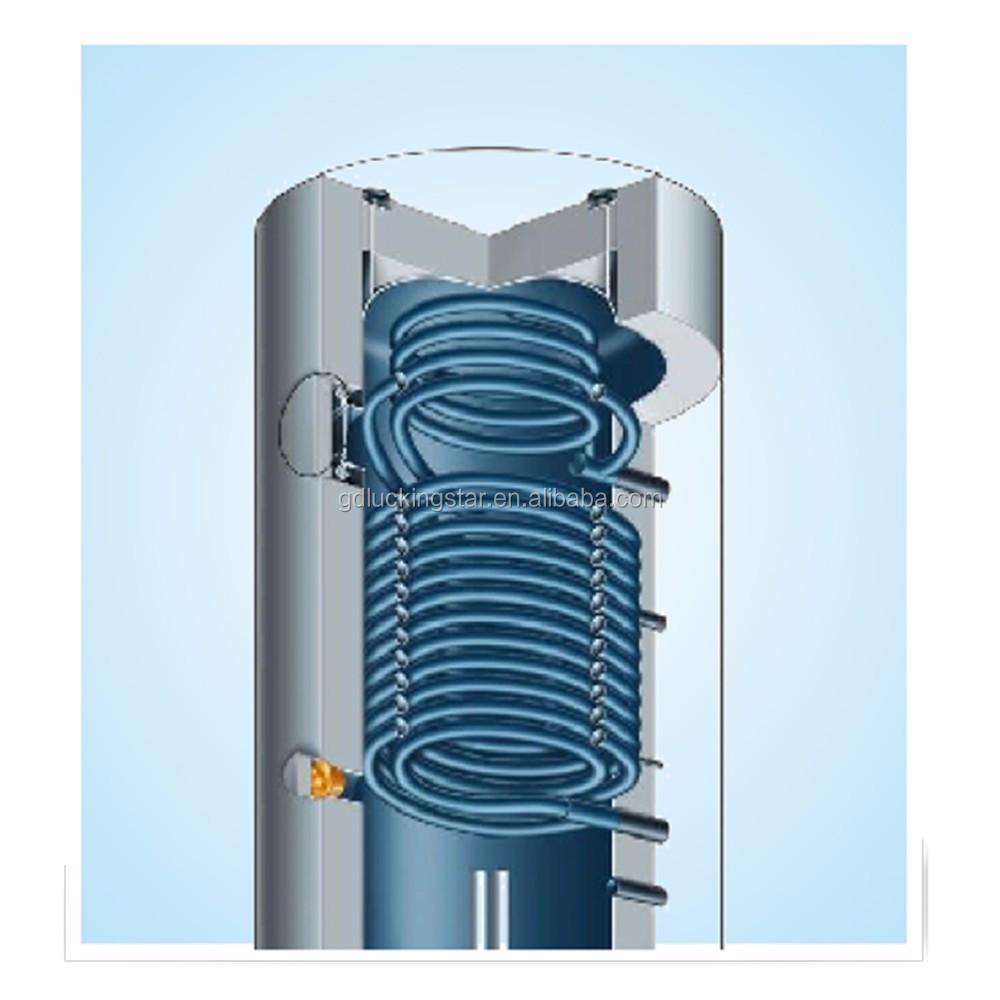 Pressured Hot Water Storage Tank Smooth Heat Exchanger Coil - Buy ...