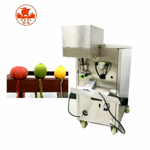 automatic stainless steel apple tomato peach peeler peeling machine