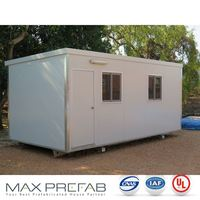 SC0603 Quick Assembly Prefabricated Container Contemporary Very Small House Plans