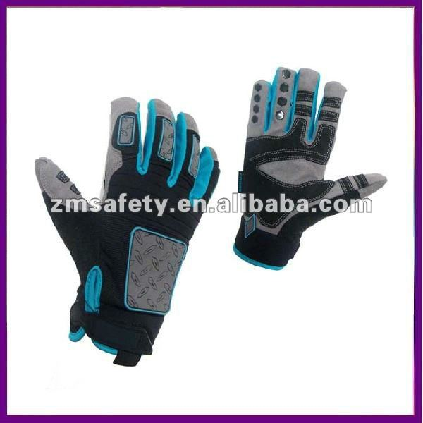 Anti-impact Mechanic Work Glove With Knuckle Protection