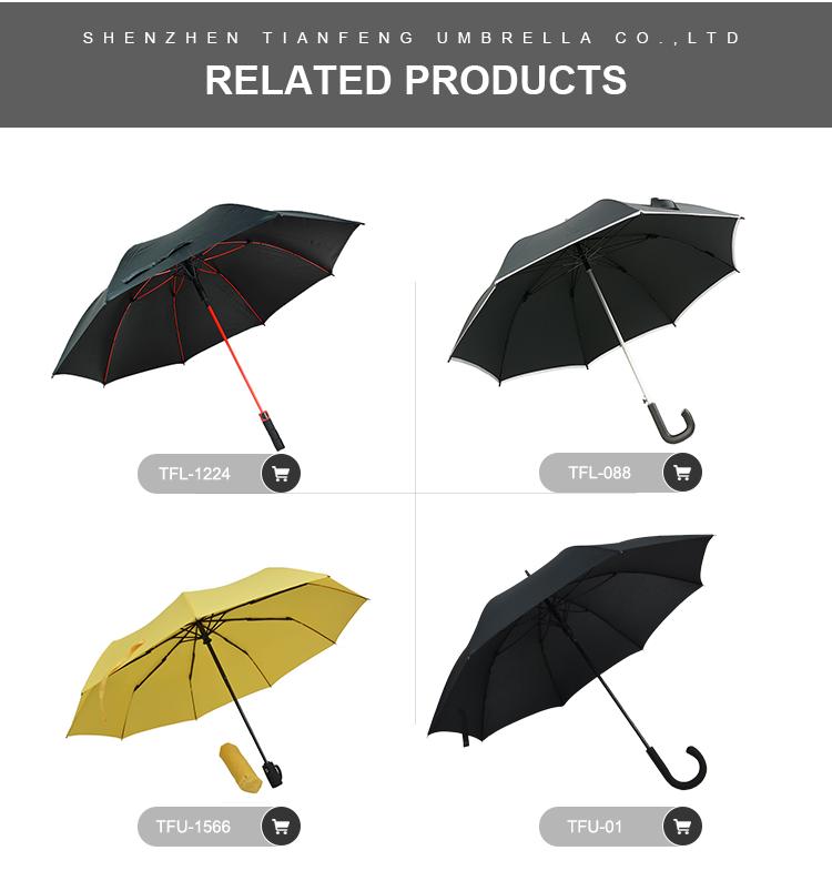 שכבה כפולה חדש עיצוב במהופך הפוך מטרייה