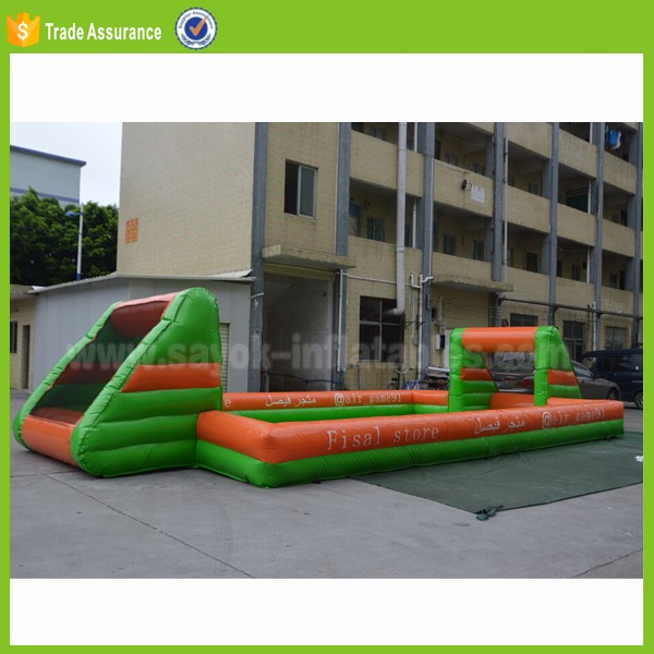 adult mini soccer playground indoor inflatable football pitch for sale