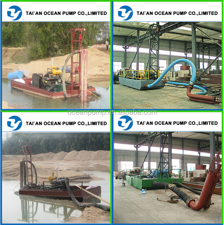 Portable Sand Pumping Machine for river dredging