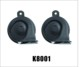 China Car Horn Factory Wholesale Aluminum Coil Dual Tone Universal Mocc Car Horn
