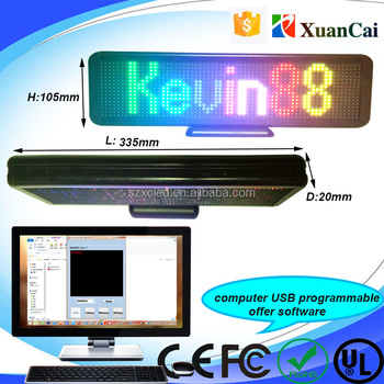 LED Mini desktop display series RGB full color desktop display screen