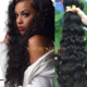 Newness Hair malaysian natural wave loose curly indian remy hair ombre u tip hair extension