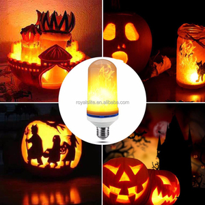 Home Decorative Effect Fire Lamps E26 E27 Led Flickering Flame Bulb Party Festival LED Flame Light Bulbs LED flame lamp