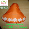 customer's design bike seat cover silk print bike saddle cover