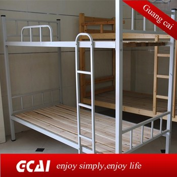 Adult Low Cost Metal Bunk Bed High Strength Cheap Double Deck Bed