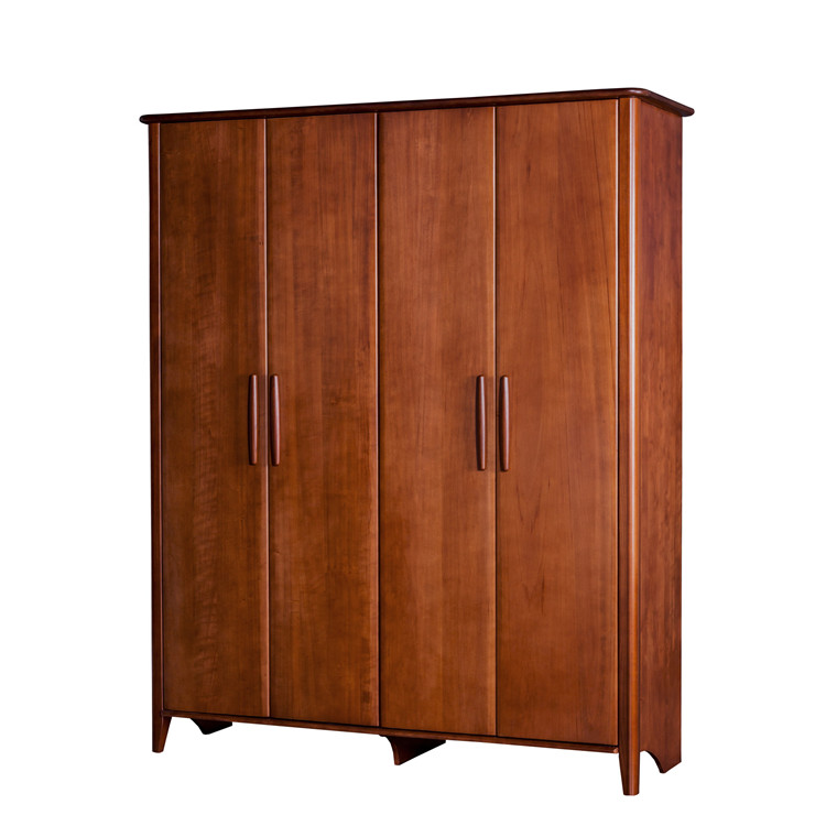 Wholesale Cheap Price Corner Bedroom Wooden Wardrobe for Bedroom