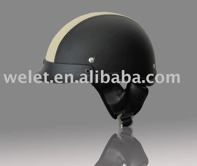 leather helmet WLT-310B
