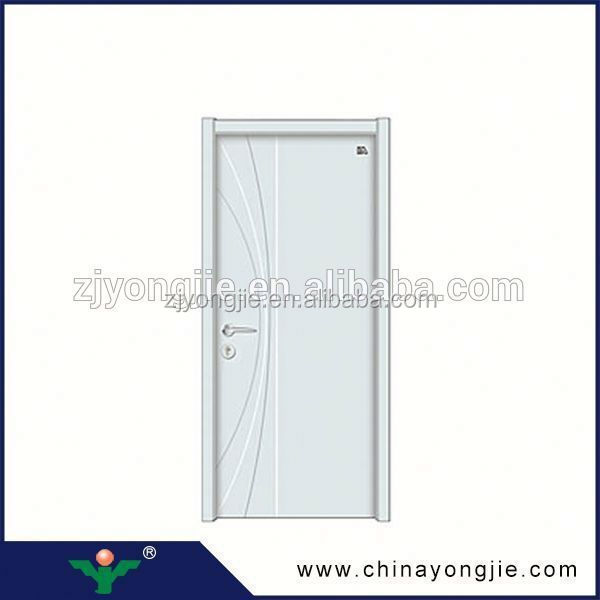 New Coming Open Style Swing modern steel wood door designs