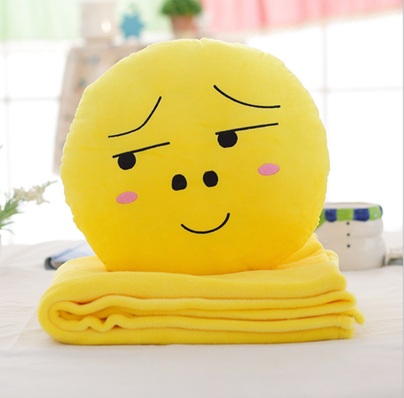 Wholesale stuffed plush throw blanket for adults and children