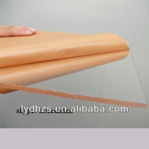 Plastic extruded clear organic glass sheet