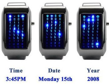 The Pimp Pusher Led Binary Watch