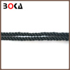 wholesale french black braid cord rope, twisted cord trim for Young Girl's Evening Dress