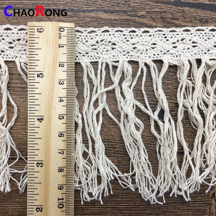 575e696b5e40 CRMT0415 10 cm algodón Niña ropa interior bragas de lujo blanco franja encaje  borla