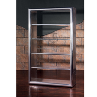 full aluminum aviator bookcase aviator furniture collection
