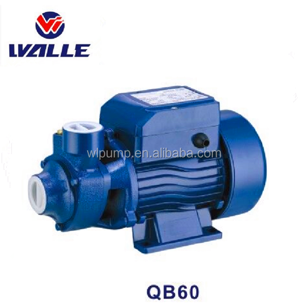 0.5 hp QB60 small peripheral water pump for garden water supply