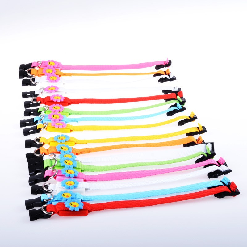 Brand new hotsell led dog training collar pet collar flashing led dog collar for wholesales