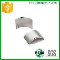 curved neodymium ac generator permanent magnet