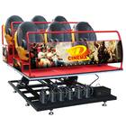 One-stop Service 6dof Hydraulic/Electric 5D Cinema 7D Cinema India 9 Seats 5 D Cinema Equipment