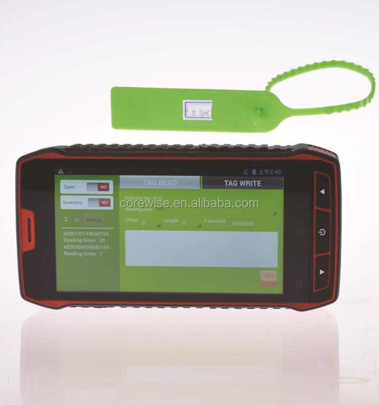 Supermarket Touch Screen Rugged Android Handheld Pda Wifi Usb ...