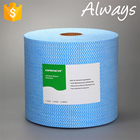 2017 ALWAYS Multipurpose Disposable Spunlace Cleaning Household Non-woven Cloths Roll