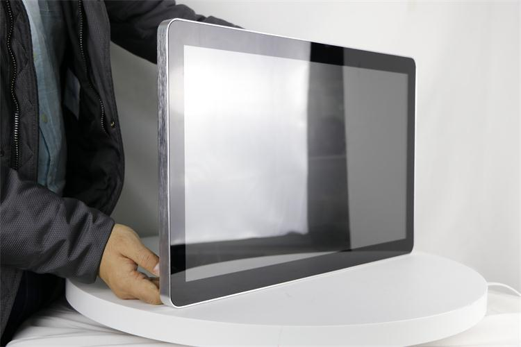 "H7 touch glass Industrial Metal shell 21.5"" pcap touch monitor for AOT industrial"
