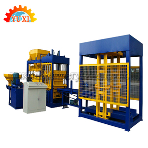 Professional Construction Building Concrete Beton Block Machine For Sale In Mexico