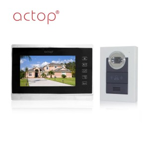 Best Saling ACTOP Wired doorphone monitor and camera Video Doorbell System