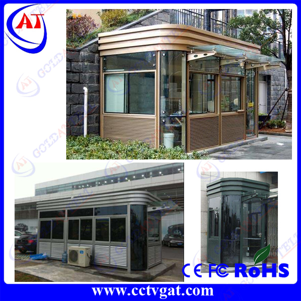Custom design Anti-rust painted modern container stainless steel movable protable kiosk house