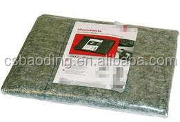 eco-friendly laminated painter mat made of recycled fleece fabric