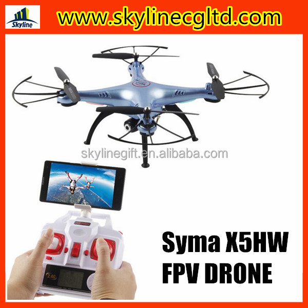 Height hold Syma X5HW FPV Drone quadcopter with camera and phone holder