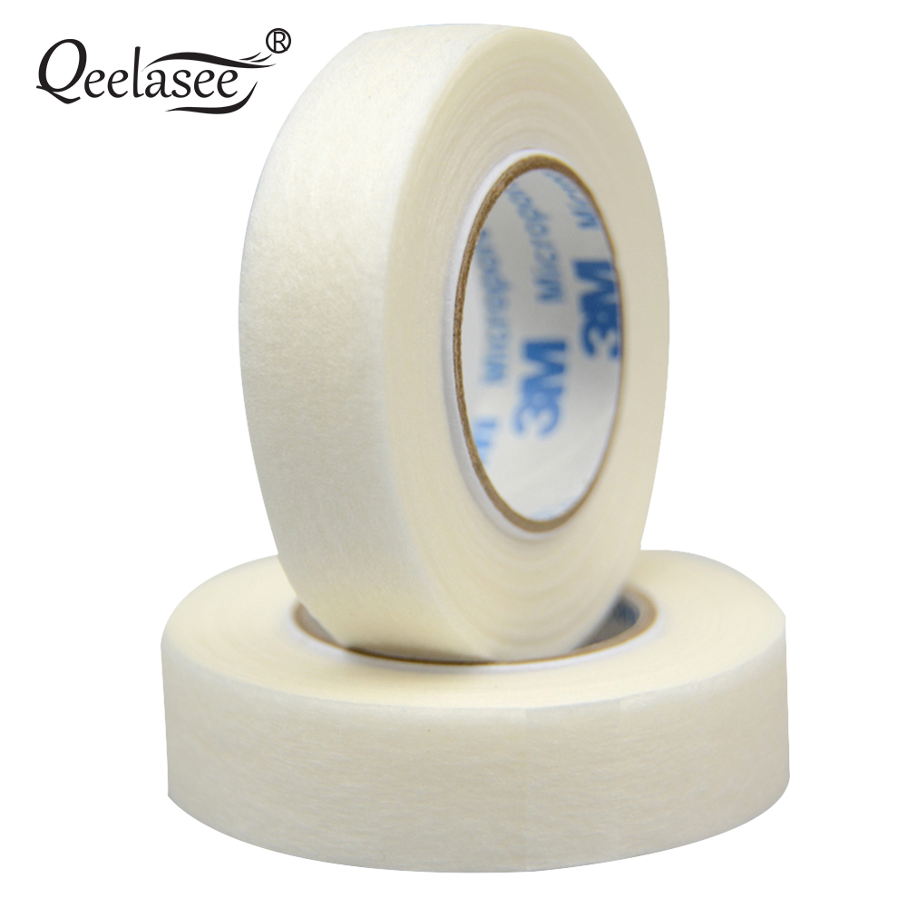 Micropore Surgical Tape Thin and Soft Best Quality Tape for Eyelash Extensions Tools Gentle On Skin