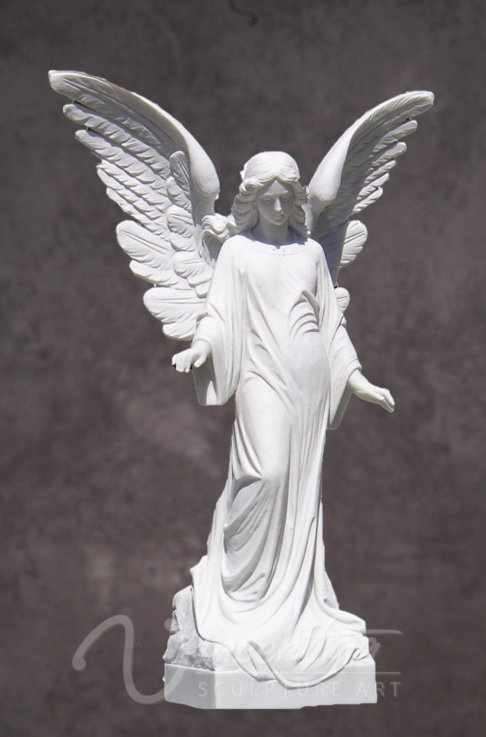 Garden Decor Stone Carvings And Sculptures Beautiful White