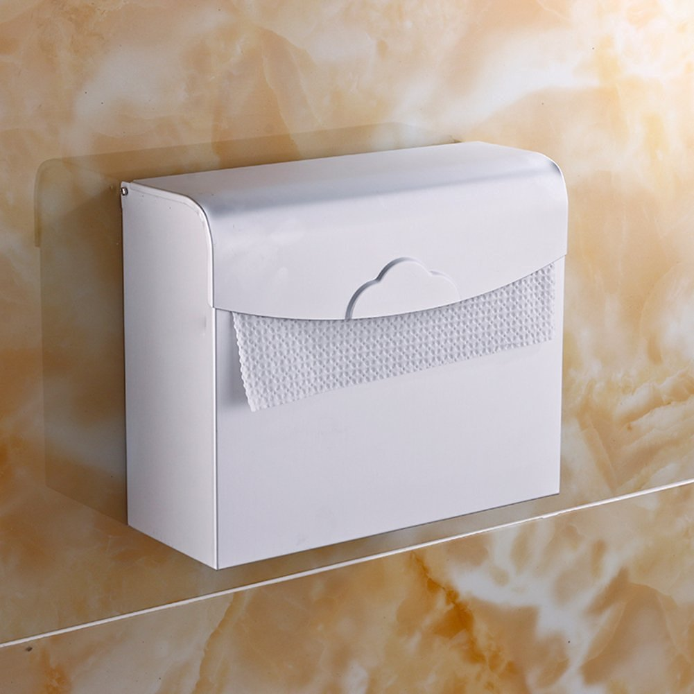 Space aluminum toilet tissue box/Toilet tray/Hygienic tray/Toilet paper holder/Hygienic tray/Tissue-paper basket-A