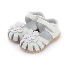 Girls Princess Sandals 2016 Summer Genuine Leather Children Sandals for Girls Flower Kids Sandals for Girls
