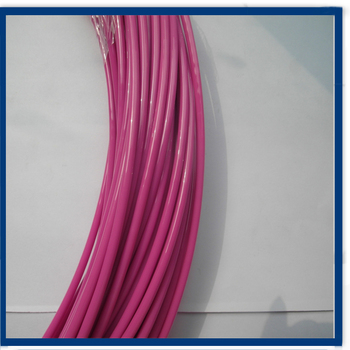 Anti-fatigue Plastic Coated Wire Rope - Buy Plastic Coated Wire ...